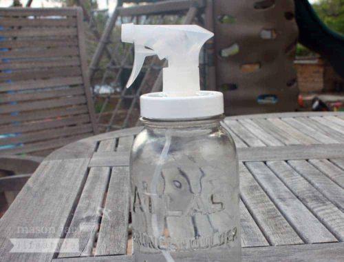 Adapta cap for regular mouth Mason jars outside