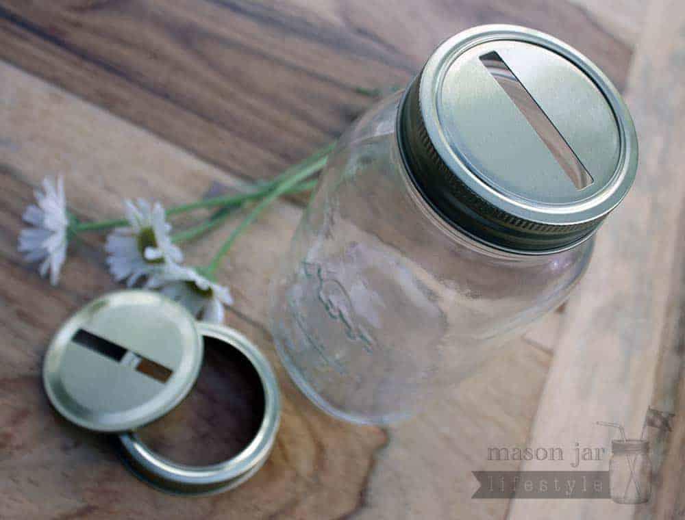 coin slot jar lids