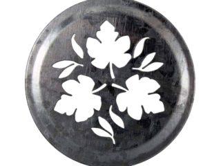 Mason Jar Lifestyle Galvanized leaf lid insert for regular mouth Mason jars
