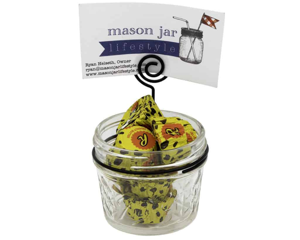 neck-clip-card-holder-regular-mouth-mason-jars-candy-business-card-4oz