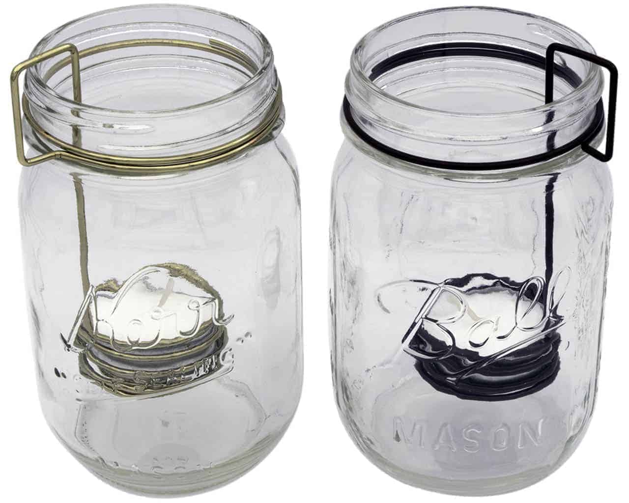 Tea Light Holder Neck Clip Insert For Regular Mouth Mason Jars