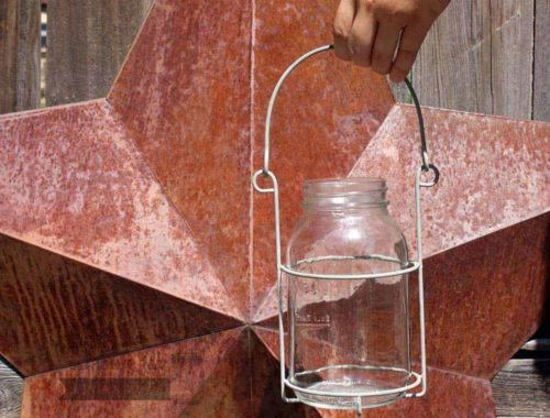 Single Jar Caddy For Quart Mason Jars