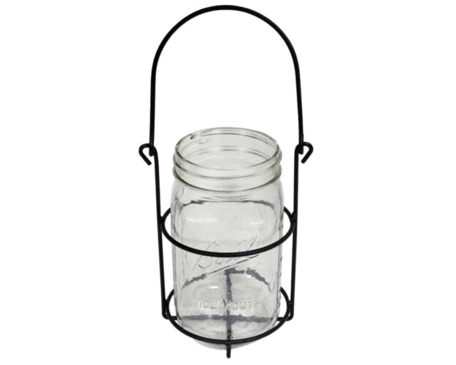 One jar caddy for quart 32oz Mason jars with wide mouth Ball jar