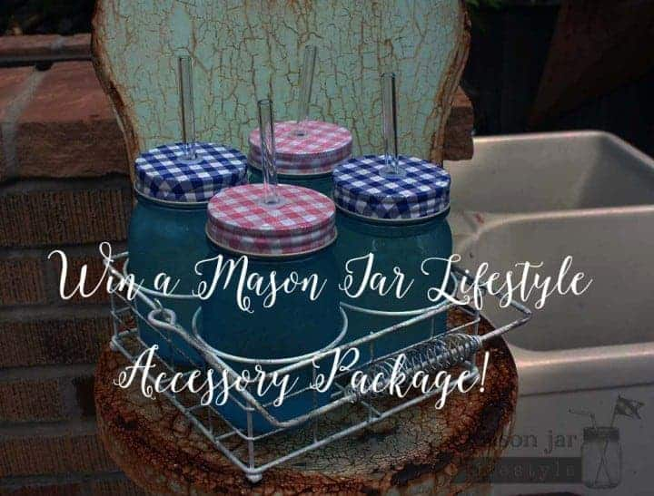 Win a Mason Jar Lifestyle Accessory Package!