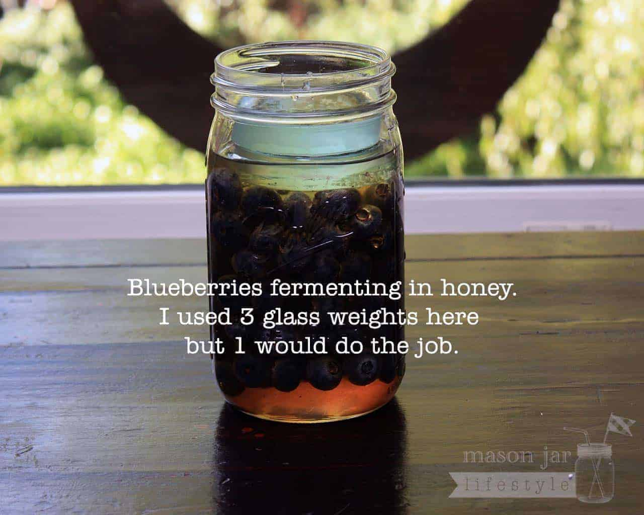 Glass Fermentation Weights For Wide Mouth Mason Jars