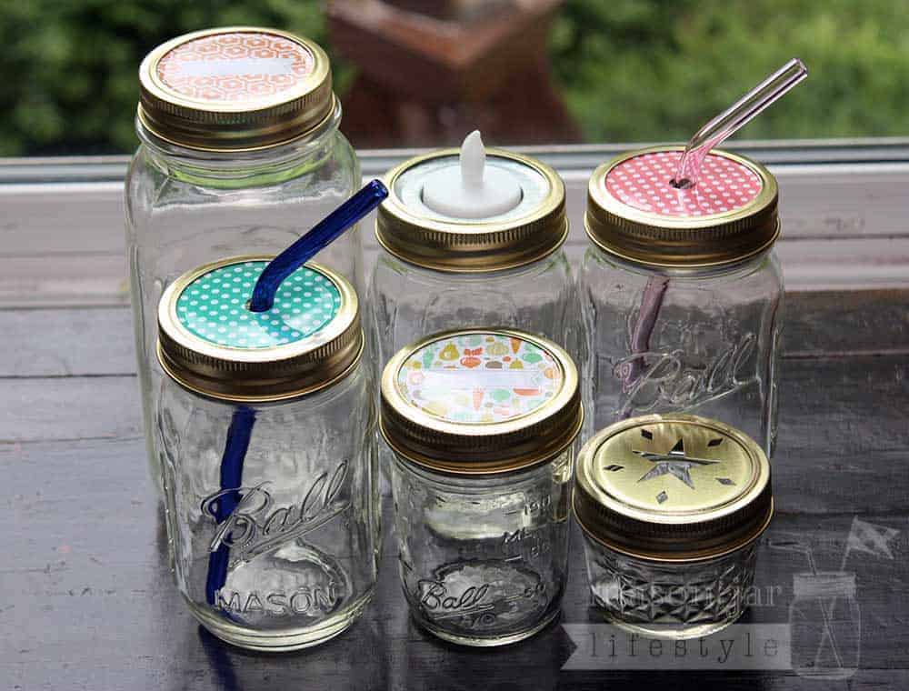 Gold Bands Rings For Mason Jars 10 Pack