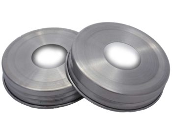 430 grade stainless steel soap hole lid