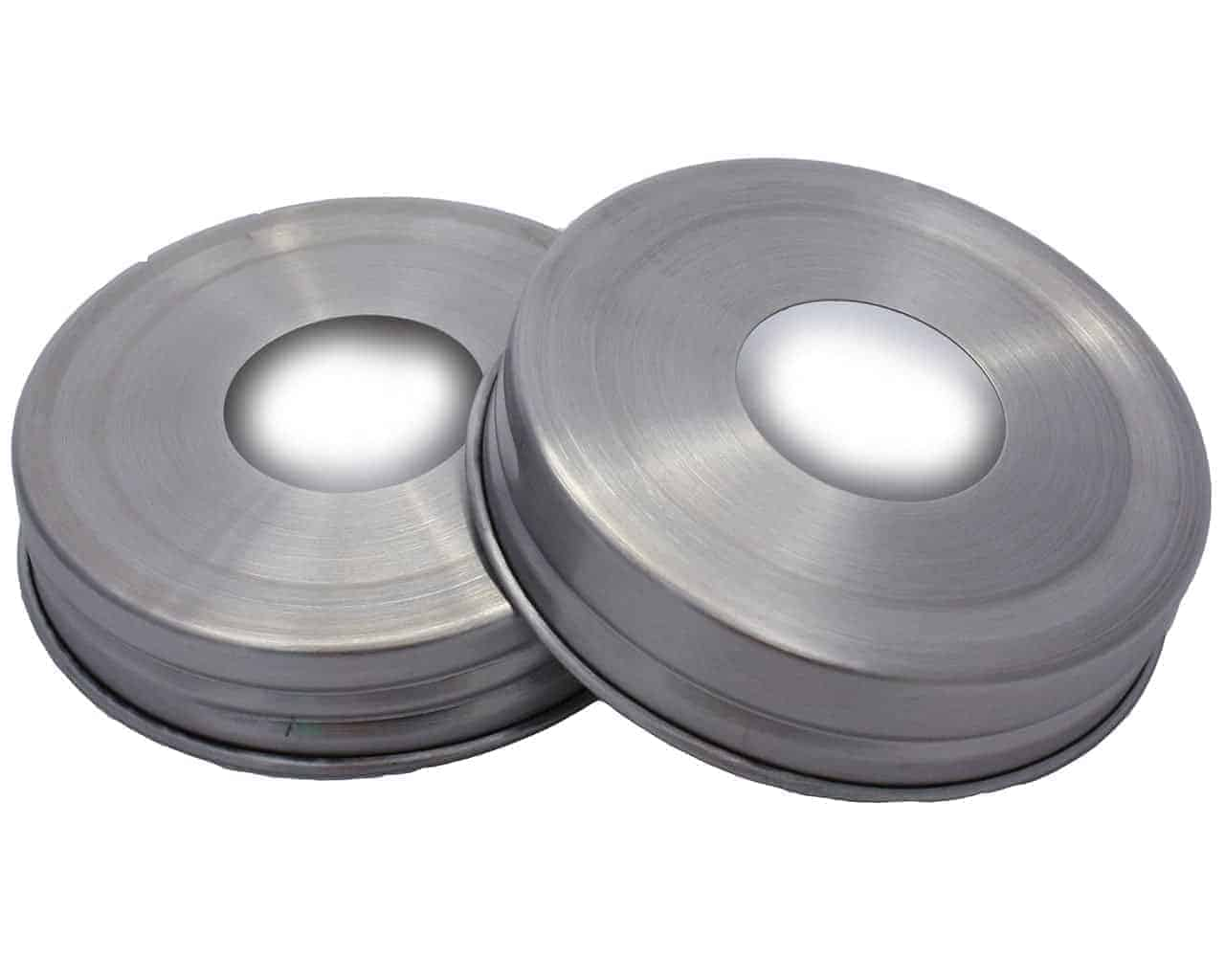 Stainless Steel Soap Dispenser Lid Adapters For Mason Jars