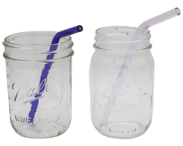 medium-pink-blue-glass-straws-pint-ball-kerr-mason-jars-9mm