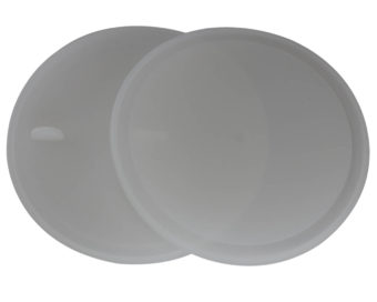 Platinum silicone lid liners for wide mouth Mason jars with tab for easy removal. Leak proof and air tight. Use with a band as a lid, or as a liner inside other lids.