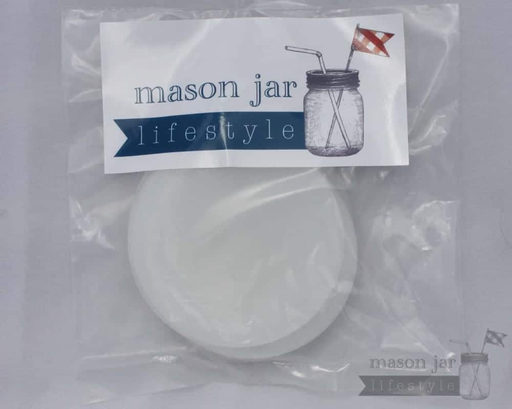 Silicone sealing lid liners for regular mouth Mason jars