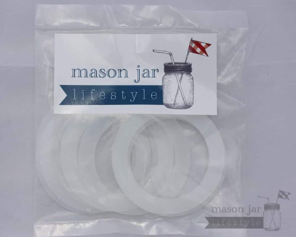 Silicone Sealing Rings Seals For Regular Mouth Mason Jars