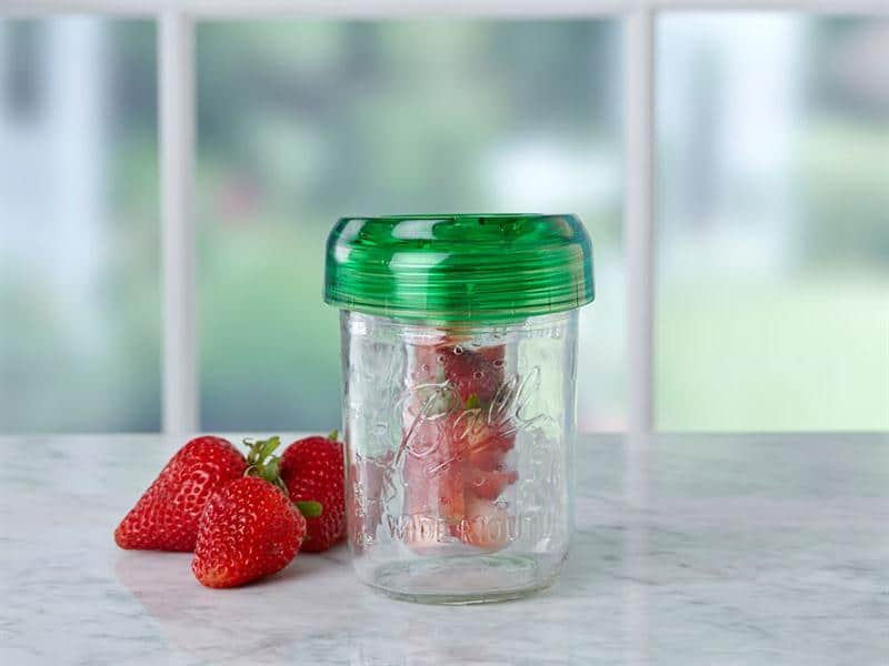 ... Drinking / Straw Hole Lids » Ball® Infuser for Wide Mouth Mason Jars