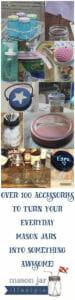 Turn your jar into something awesome today! Mason jar wonderland! #masonjars