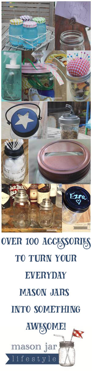 Turn your jar into something awesome today! Mason jar wonderland! #masonjars