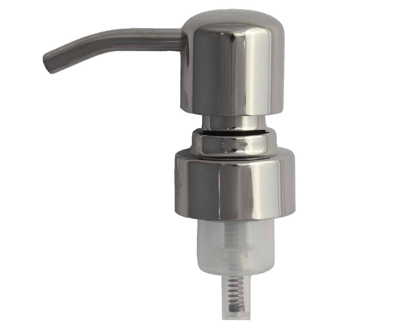 Mirror Chrome 4 Foaming Soap Pump Adapter For Mason