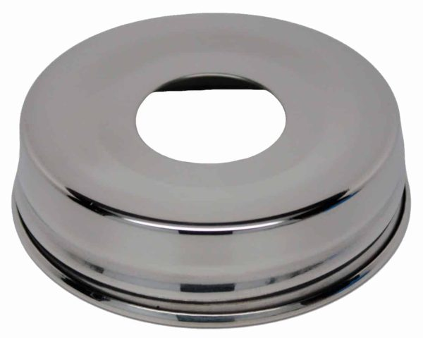 Mirror / Chrome / Polished 304 stainless steel soap pump dispenser lid adapter for regular mouth Mason jars