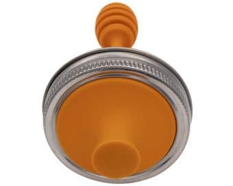 jarware-orange-plastic-honey-dipper-with-mason-jar-lifestyle-regular-mouth-stainless-steel-rust-proof-band-top