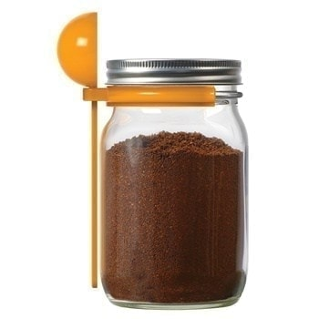 Jarware coffee spoon clip for Mason jars