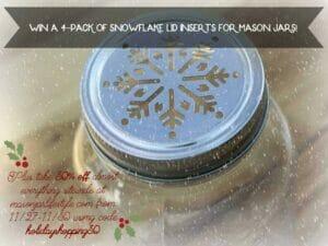 Snowflake lid contest