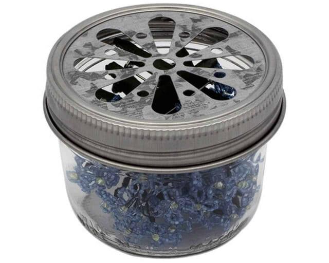 galvanized-daisy-cutout-lid-insert-wide-mouth-kerr-half-pint-8oz-mason-jar