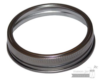 Stainless steel rust resistant bands rings for wide mouth Mason jars