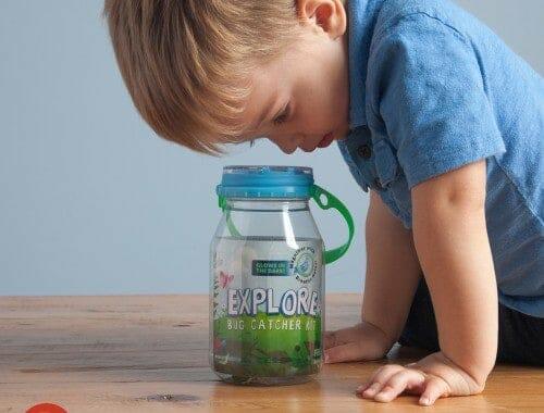 reCAP Explore Mason jar bug catcher kit