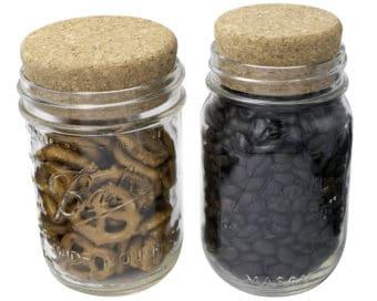 mason-jar-lifestyle-cork-lid-cap-stopper-regular-wide-mouth-ball-kerr-mason-jars-pretzels-coffee-beans