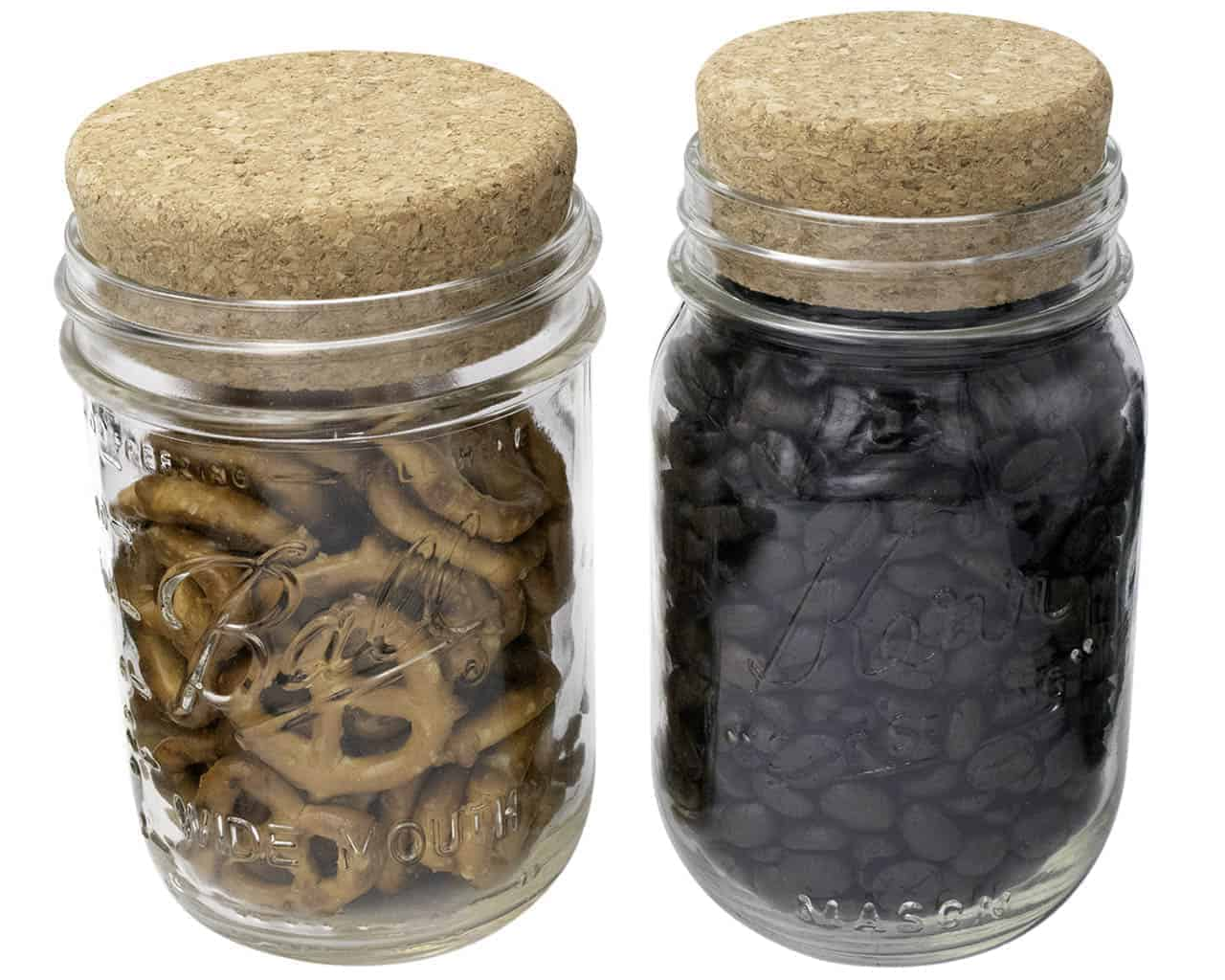 Cork Lid Stopper For Mason Jars
