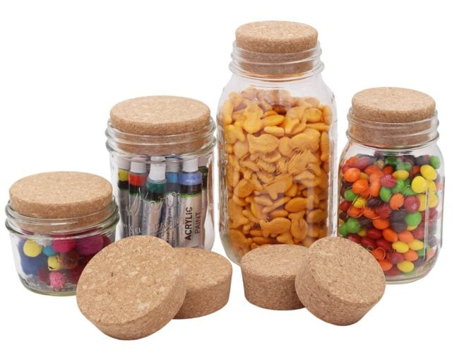 mason-jar-lifestyle-cork-lid-cap-stopper-regular-wide-mouth-mason-jars-ball-kerr-pint-4-pack