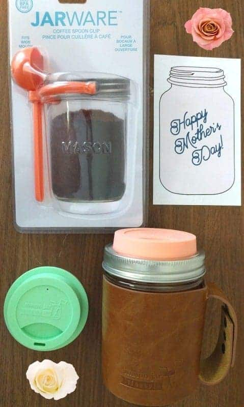 Mother's Day Mason Jar Lifestyle coffee set
