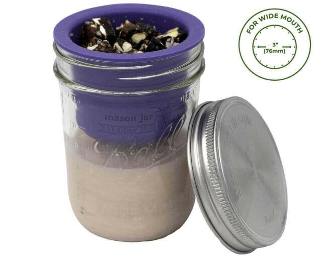 mason-jar-lifestyle-divider-dressing-cup-stainless-steel-lid-ball-wide-mouth-pint-jar-yogurt-granola-icon
