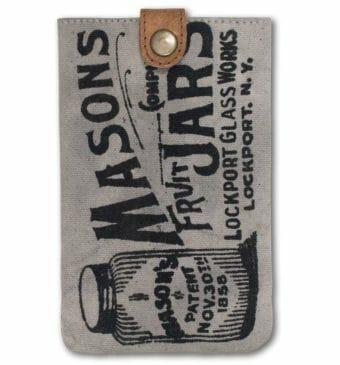Mason jar smart phone case