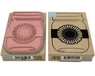 hampton-arts-mason-jar-sunflower-stamp-front-back-rubber-wood