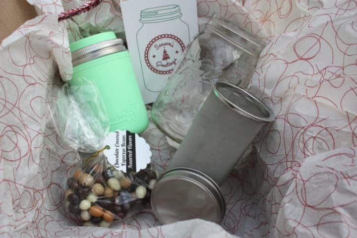 Mason Jar Lifestyle coffee gift set