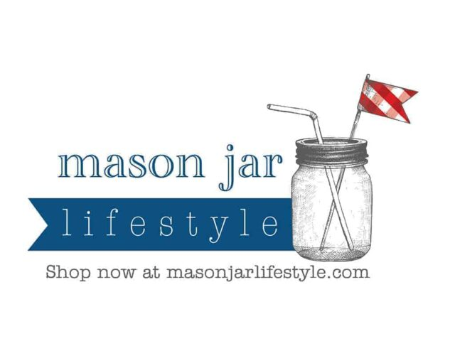 Mason Jar Lifestyle logo with website
