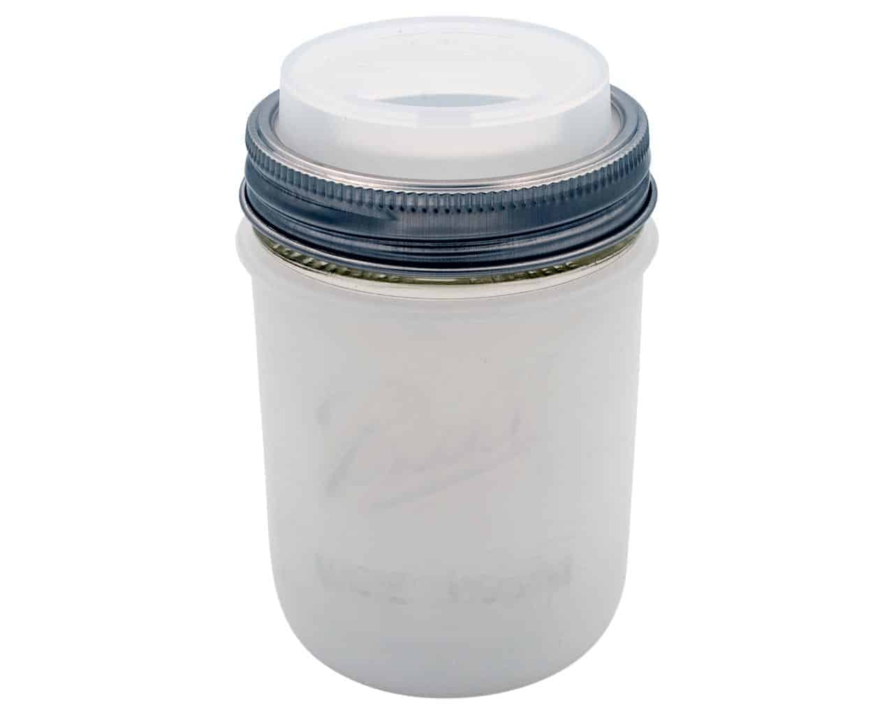 silicone sleeve for wide mouth pint mason jars. Black Bedroom Furniture Sets. Home Design Ideas