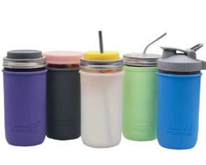 mjl-silicone-sleeve-koozie-ball-pint-and-half-24oz-mason-jar-5-colors-jars-lids-straws-drinking