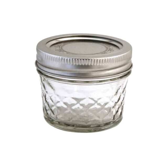 Ball quilted 4oz regular mouth Mason jar