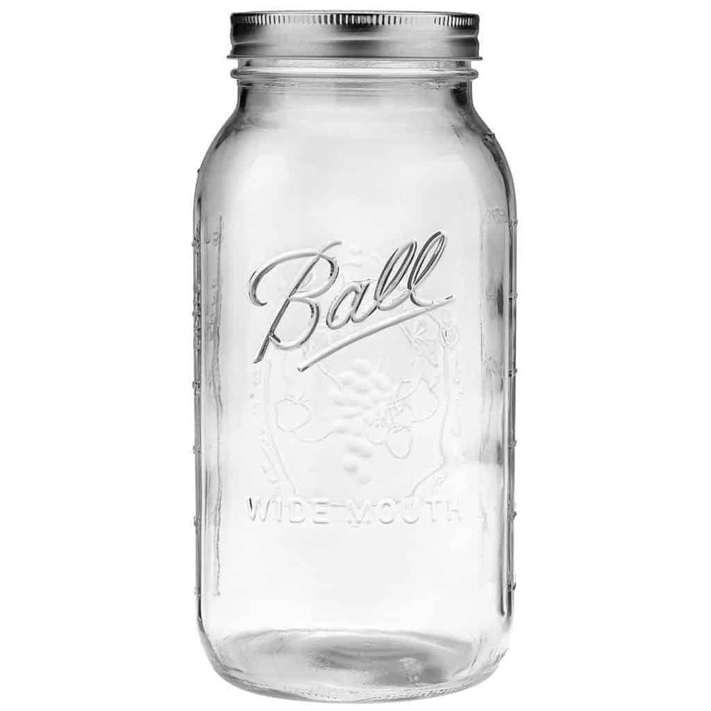ball wide mouth jars. ball wide mouth half gallon 64oz mason jar jars o