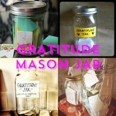 Gratitude Mason Jar