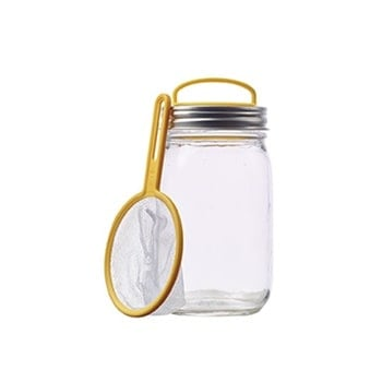 Jarware firefly catching kit on pint regular mouth Mason jar