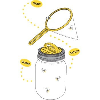 Jarware firefly catching kit for regular mouth Mason jars