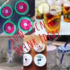 Mason Jar Picnic Drinks