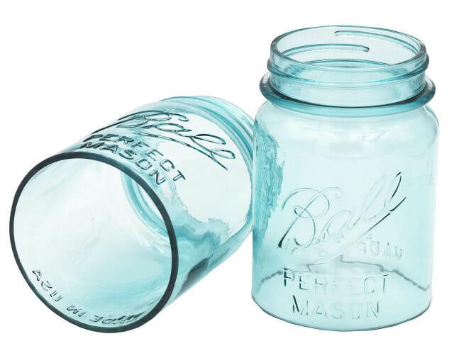 Regular Mouth Aqua Ball Cut Open Bottom Pint Lamp Lighting Shade