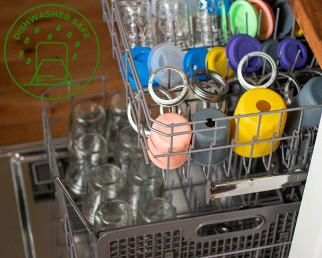 Mason Jar Lifestyle Mason jar accessories are dishwasher safe