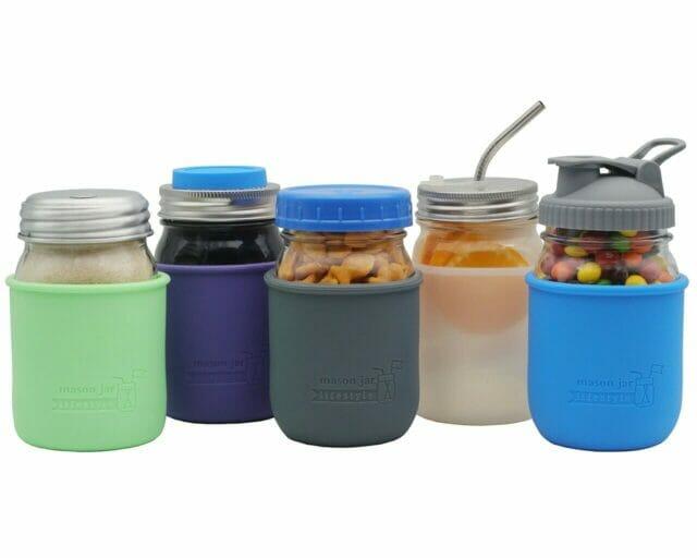mason-jar-lifestyle-silicone-sleeve-jacket-regular-mouth-pint-16oz-lids-ball-kerr