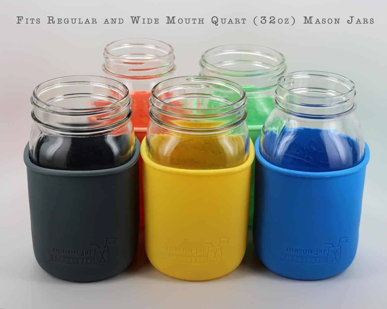 how to use silicone seals ball mason jar