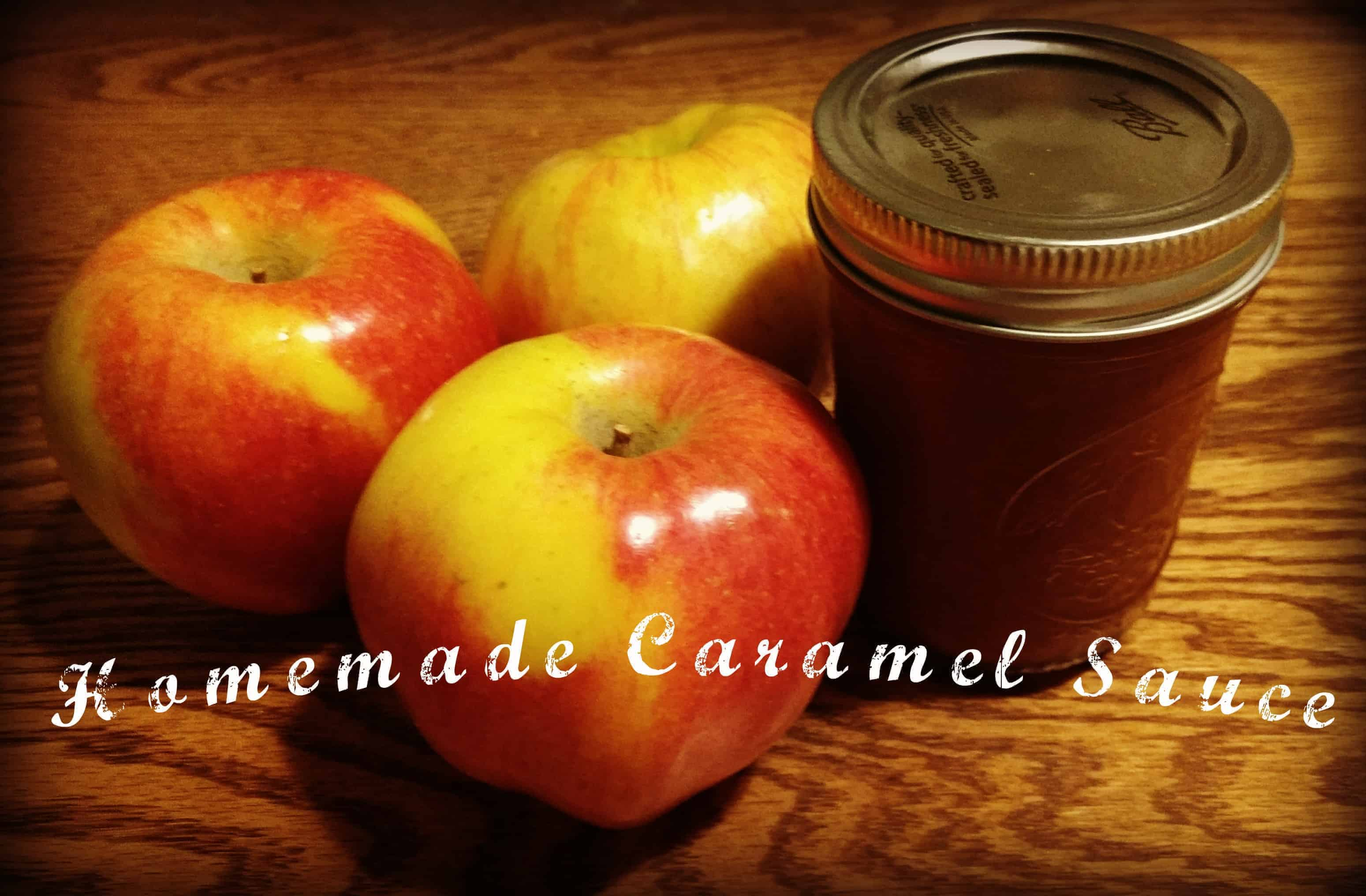Make and Jar Your Own Caramel Sauce