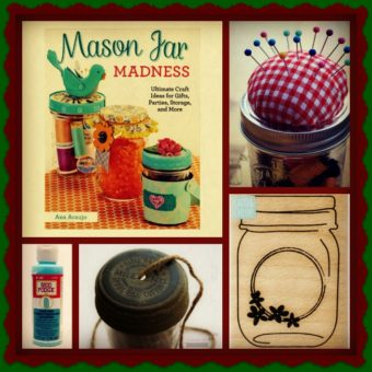 MJL Mason Jar Craft Gift Set
